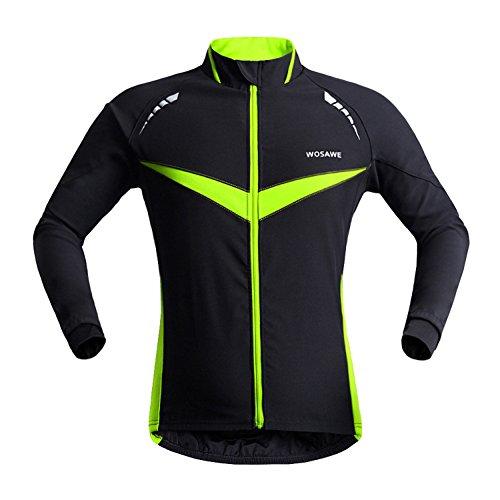 WOSAWE 2015 Neue Profit Herren Fahrradjacke Herren Radjacke Winddichte Wasserdicht MTB Mountain Bike Jacket (L)
