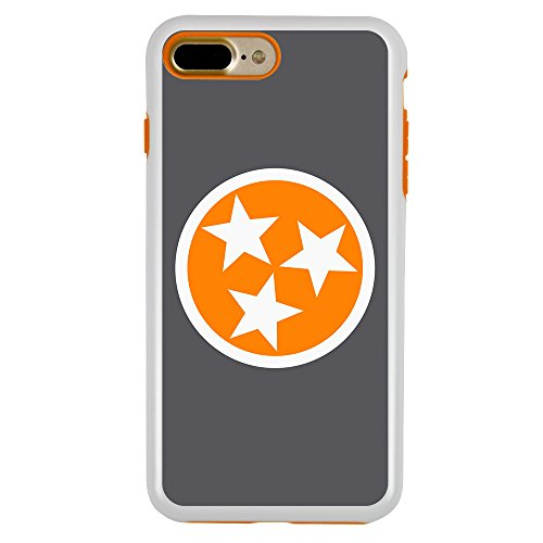 Tennessee Volunteers Case - Guard Dog Tennessee Volunteers Tristar Hybrid Case for iPhone 7/8 Plus with Guard Glass Screen Protector