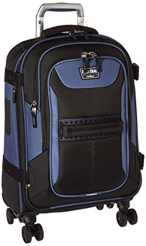 Travelpro Tpro Bold 2.0 21 Inch Expandable Spinner, Black/Navy, One Size by Travelpro