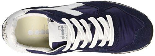 Blu – Trident Nyl White Low Plum Scarpe Top Diadora Blue Adulto Unisex SW RZqx5wF