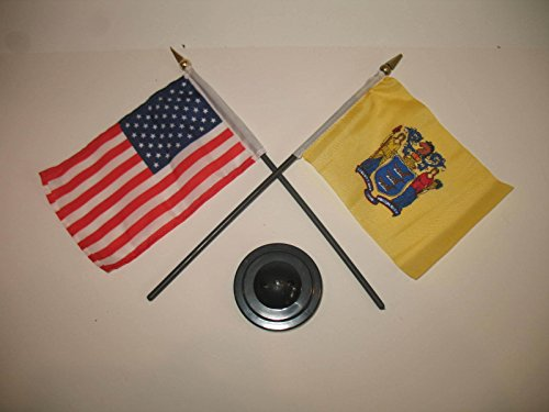 New Jersey State USA America American Flag 4