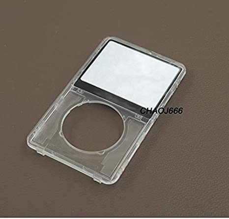New Black Front Faceplate 60GB Back Cover Housing for iPod 5th 5.5 Gen Video