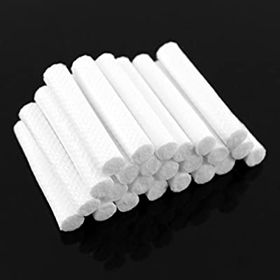 Nasal Inhaler Replacement Wicks (24-pack), Aromatherapy Refill Wick Sticks for Essential Oil Inhalers (24 Wicks)