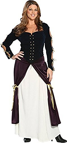 Womens Lady Musketeer Costumes (Plus Size Lady Musketeer Costume 3XL)