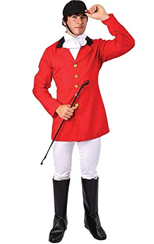 Orion Costumes Mens Fox Hunter Fancy Dress Costume Stag Night Standard -