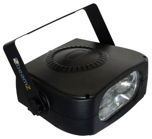 beamZ Hochleistungs-Stroboskop | kompakter Effektstrahler | 150W Leistung | für Bühnenbeleuchtung, Diskotheken | manuell einstellbare Blitzgeschwindigkeit | inkl. Montagebügel zur Wand- und Deckenbefestigung | Farbe: schwarz
