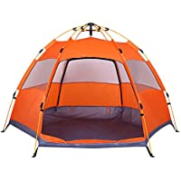 Lw Family Tent 3-4 Person Camping Tent, Dome Tent Instant...