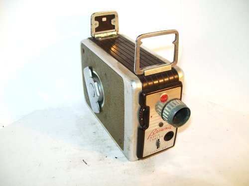 Vintage Kodak Brownie 8mm Movie Camera