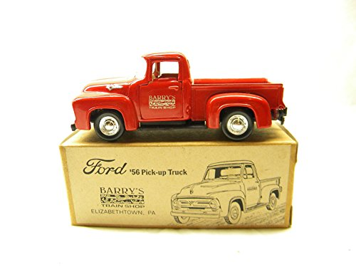 Road Champs 1956 Ford F100 Pick Up Barry's Train Shop 1994 Die-cast New in Original - Shops Barry In