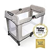 Spacecot - Baby/Toddler/Child, Easy Fold, Lightweight Travel Cot - Stone