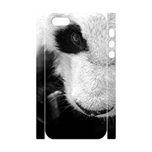 3D Case For Sam Sung Note 4 Cover Case, Panda Snout Hard Case For Sam Sung Note 4 Cover (White)