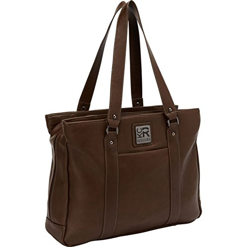 Leather Triple Compartment Laptop Bag (Kenneth Cole Hit A Triple Leather Shiny Faux Leather Laptop Tote in)