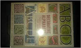 Book Decorative Alphabets (Library of Style and Design)