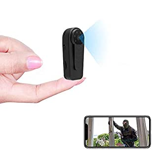 Mini Cameras HUOMU Portable WiFi Camera True Full HD Recording Hidden cam Meeting/Class/Sport Recorder Security Camera