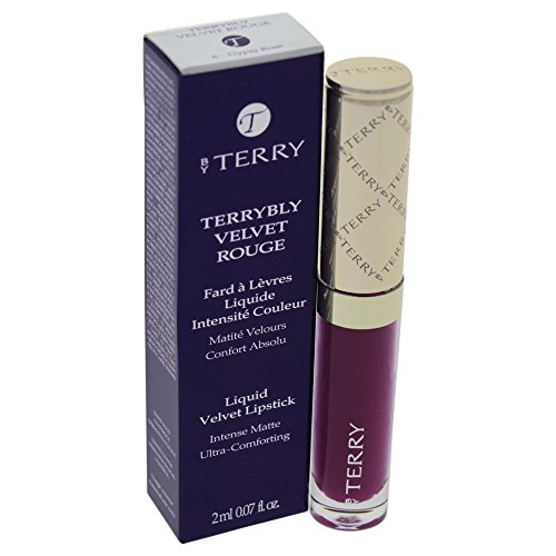 By Terry Terrybly Velvet Rouge Liquid Lipstick for Women, # 6 Gypsy Rose, 0.07 Ounce (Lip Gloss Rose Terry)