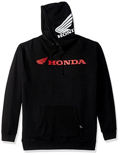 Factory Effex (15-88374) 'Honda' Horizontal Hooded Pull-over Sweatshirt (Black, X-Large)