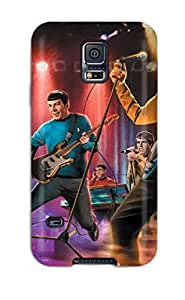 YY-ONE The Star Trek Band/ Fashionable Case For Galaxy S5 by mcsharks