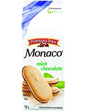Pepperidge Farm Monaco Mint Chocolate Cookies, 198 g