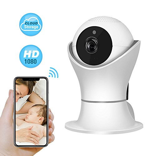 Cheap WiFi IP Camera with 3D Navigation Panorama,1080P 2M 360ºWireless Video Surveillance Camera System for Home,Top Max Pet/Baby/Elder Monitor Nanny IP Cam w/Motion Detection,Night Vision, PTZ, 2 Way Audio