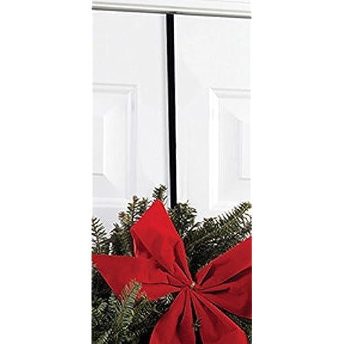 Iron Christmas Holiday Wreath Hanger