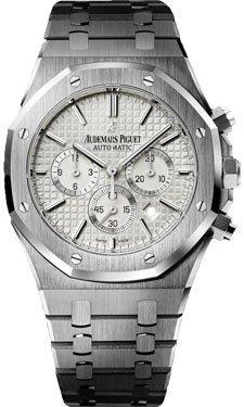 Audemars Piguet Royal Oak Men's Chronograph Watch - 26320ST.OO.1220ST.02