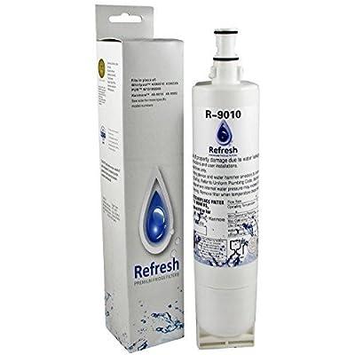 Premium Refrigerator Water Filter fits Whirlpool 4396508, 4396501 PUR KitchenAid Maytag