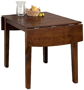 Jofran 342-48, Richmond Cherry, Double Drop Leaf Dining Table, 30 W X 30 D X 39 D X 48 D X 30 H, Richmond Cherry Finish, Set of 1