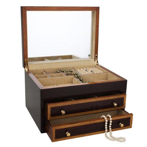 Reed & Barton Tayloe Jewelry Chest - Colonial Williamsburg – Mahogany – 1661M by Reed & Barton