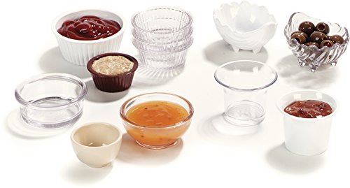 Carlisle 084502 SAN Fluted Ramekin, 4.5-o.z Capacity, 1.50 x 3.50'', White (Case of 48) by Carlisle (Image #6)