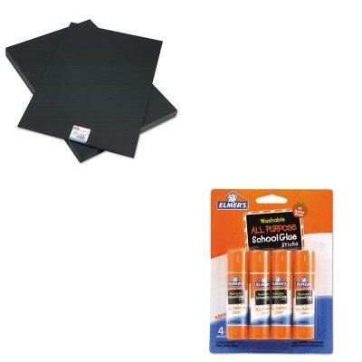 KITEPI951120EPIE542 - Value Kit - Elmer's CFC-Free Polystyrene Foam Board (EPI951120) and Elmer's Washable All Purpose School Glue Sticks (EPIE542)
