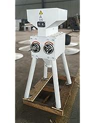 Premium Motorized Malt Mill W 30lb Capacity 11lb Min Grinding Capacity