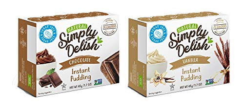 Simply Delish Natural Pudding Chocolate product image