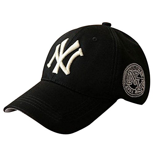 84c1c3164b3 HOT Mens Womens Baseball NY YANKEES Caps Adjustable Snapback Sport Hip-Hop  hat black - Buy Online in UAE.