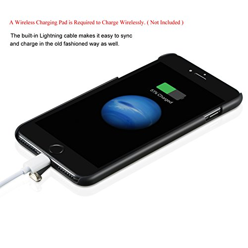 iphone accessories wireless charger kit for iphone 7 plus antye sleep friendly wireless. Black Bedroom Furniture Sets. Home Design Ideas
