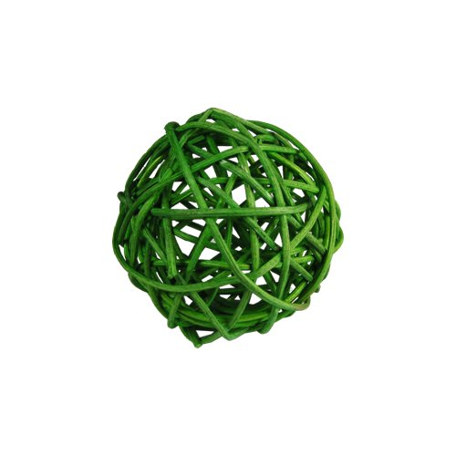 CYS Vase Fillers Twig Ball, Rattan Ball, D-2'', Pack of 4 bags (12 pcs per bag)