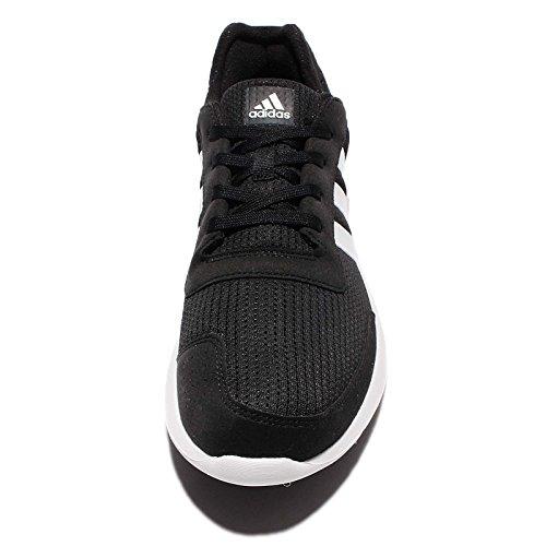 adidas element refresh m - Zapatillas de deporte para Hombre, Negro - (NEGBAS/FTWBLA/NEGBAS) 40