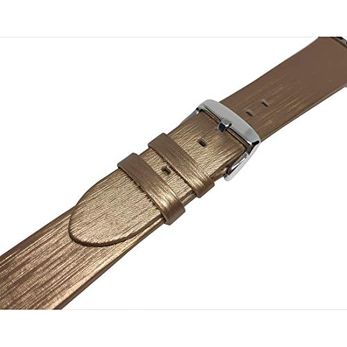 for Apple Watch Band, 44mm 42mm 40mm 38mmiWatch Band Genuine Leather Strap Stainless Metal Buckle for Apple Watch Series 4, Series 3, Series 2,Sport & Edition (Mocha Gold, 42MM)