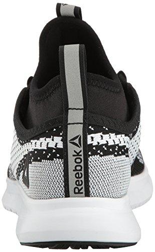 Reebok Womens Plus Runner Ultk Running Shoe Black/White G4BeOGLkTH