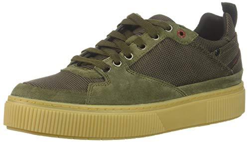 Diesel Men's S-Danny LC II Sneaker, Olive/Green, 9.5 M US