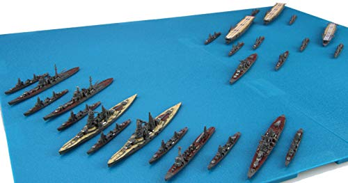 1/3000 Atsumeru Gunkan Series No.16 Battle of The South Pacific Set (Shoukaku / Zuikaku / Zuihou / w/Pre-Painted Navalised Aircraft) Plastic Model