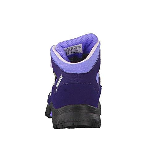 adidas Terrex Mid GTX I, Botas de Senderismo Unisex Niños Azul (Tinnob / Blatiz / Aerorr 000)