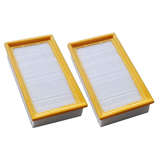EZ SPARES 2 Packs Karcher HEPA Filter for NT 25/1, 35/1 & 45/1 Wet & Dry Vacuums Attachment