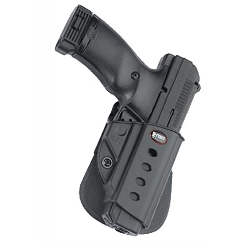 Fobus HPP Evolution Holster for Hi-Point .380, .40, .45, 9mm, Ruger American 9mm Compact, 9mm & .40 Full, P94, P95, P97 (with or without rail), SR45 , Right Hand Paddle (Best And Less Highpoint)