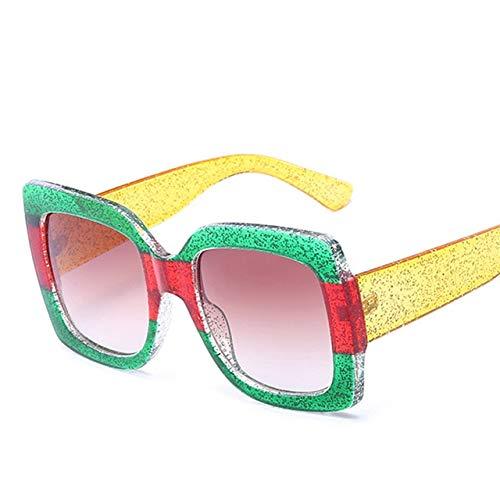 Sunglasses Women Sun Glasses Dames sonnenbrille Lunette de Soleil Femme gafas sol gafas Mujer oculos Square - (Lenses Color: White) (Retro Sonnenbrille Damen)
