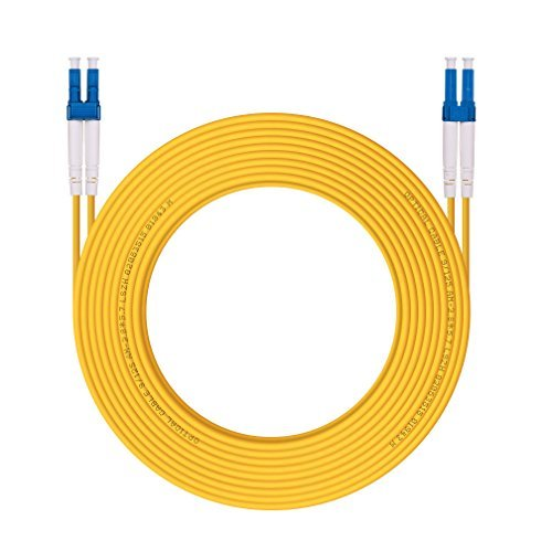 OS1/OS2 LC to LC Fiber Patch Cable 9/125 Singlemode Duplex, LSZH, 10-Meter(32.8ft)