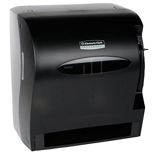 Kimberly Clark Levermatic Roll Paper Towels Dispenser (09765), Manual, Smoke -