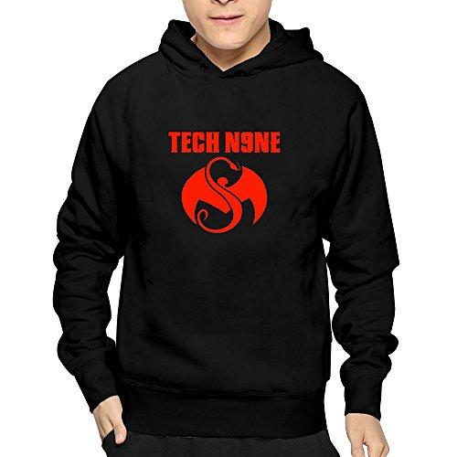 Rapper Tech N9ne Logo Men's Blank Street Cucullate Jersey (Tech N9ne Jersey)