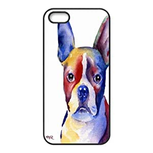 Wholesale Cheap Phone Case For Apple Iphone 5 5S Cases -Funny Dog,Dogs Art Pattern-LingYan Store Case 15