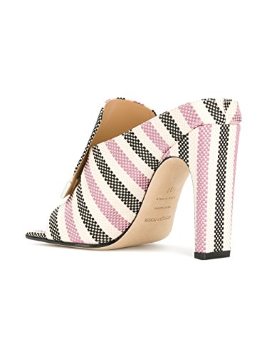 Chaussures À Coton Blanc Rose Rossi Talons Sergio A77980MTE1215058 Femme Axqw0FYX