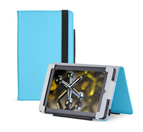 Fire HD 6 Case (2014 model), Blue,  Nupro, Standing Case, Protective Cover (4th Generation: 6